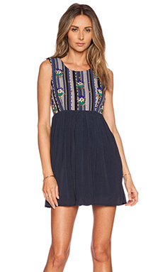 Tularosa Bianca Dress in Navy