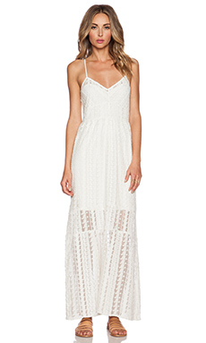Tularosa Charity Slip Dress in Ivory