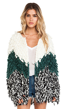 Tularosa Dylan Knit Coat in Variation