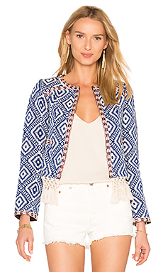 Tularosa Santa Fe Fringe Jacket in Multi