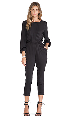 Tularosa Prima Jumpsuit in Black
