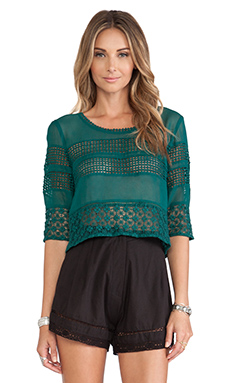 Tularosa Brax Top in Storm Green