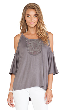 Tularosa Believer Top in Rabbit Grey
