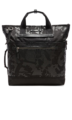 Tumi Dalston Perch Backpack Tote in Black Camo