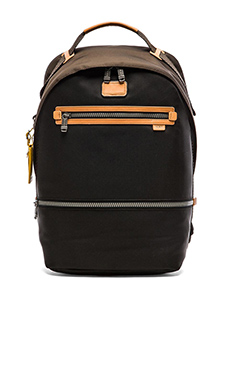 Tumi Alpha Bravo Cannon Backpack in Black & Brown