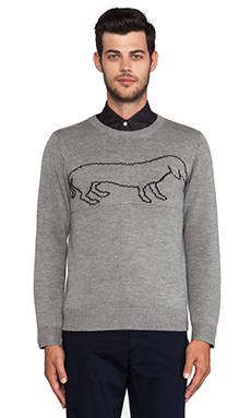 TIMO WEILAND Coconut Digital Sweater in Grey
