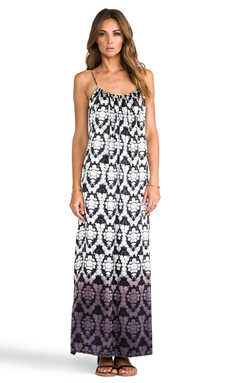 Twelfth Street By Cynthia Vincent Dip Dye Maxi in Cotton Blossom
