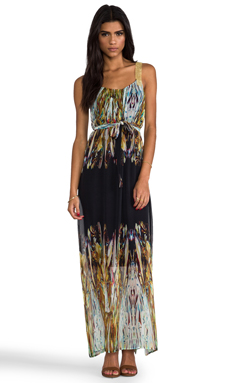 Twelfth Street By Cynthia Vincent Chainmail Maxi Dress in Kryptonite