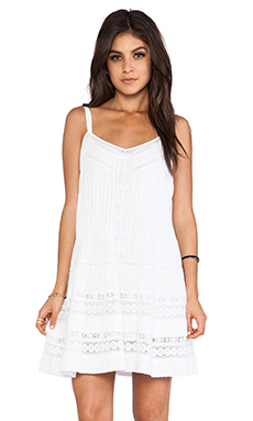 Twelfth Street By Cynthia Vincent Mini Western Lace Dress in White