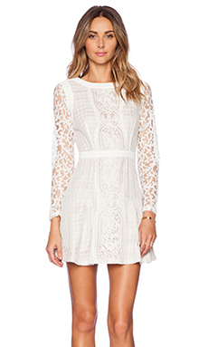 Twelfth Street By Cynthia Vincent Zip Back Dress in White