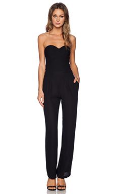 Twelfth Street By Cynthia Vincent Corset Jumpsuit in Black