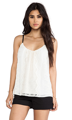 Twelfth Street By Cynthia Vincent Embroidered Cami in White
