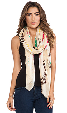 Twelfth Street By Cynthia Vincent Geo Ikat Scarf in Geo Ikat