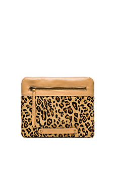 Twelfth Street By Cynthia Vincent Apple Clutch in Leopard