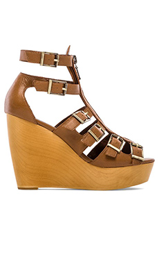 Twelfth Street By Cynthia Vincent Pacey Gladiator Wedge in Tobacco