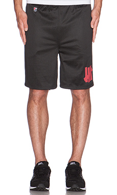 Undefeated B-Ball Short in Black