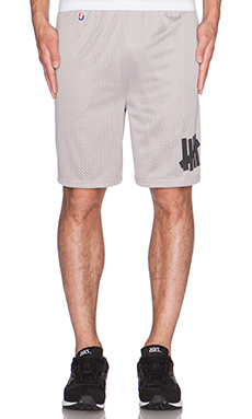 Undefeated B-Ball Short in Grey
