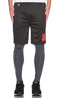 Undefeated Solid Running Pants in Dark Grey
