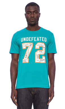 Undefeated Autograph 72 in Teal