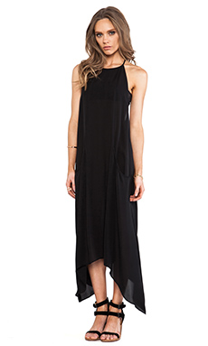 Ulla Johnson Crane Dress in Obsidian