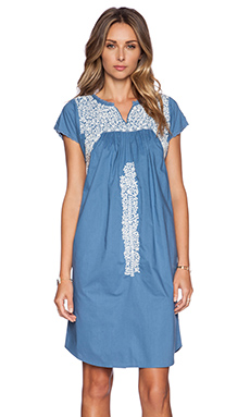 Ulla Johnson Dahlia Dress in Cornflower