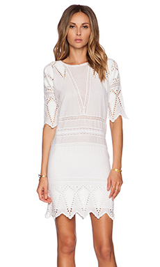 Ulla Johnson Lupe Dress in Pristine