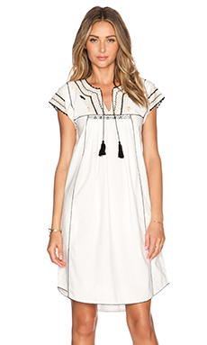 Ulla Johnson Pia Dress in Bone