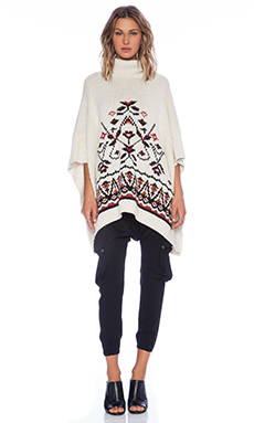Ulla Johnson Elska Poncho in Natural
