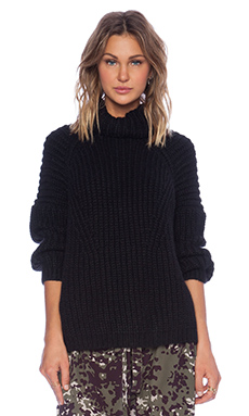 Ulla Johnson Severine Sweater in Ebony