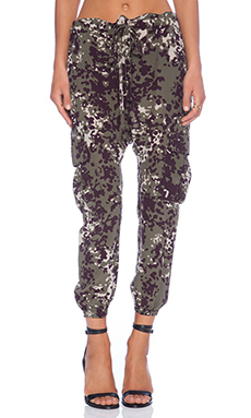 Ulla Johnson Army Pant in Camo
