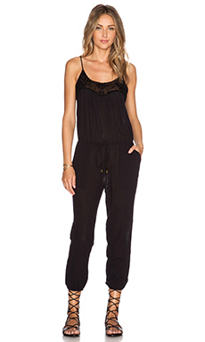 Ulla Johnson Valencia Jumpsuit in Black
