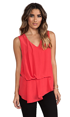 Ulla Johnson Moon Blouse in Coral