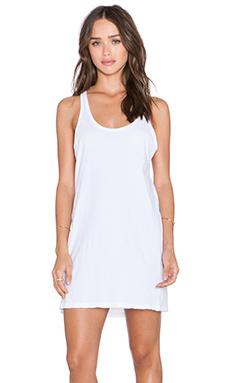 une Brandie Tank Dress in White