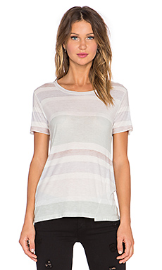 une Leah Loose Tee in Stripe