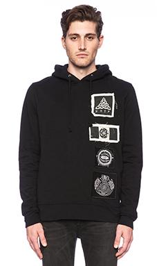 UNIF Rune Hoodie in Black