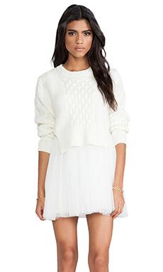 UNIF Chloe Dress in Cream