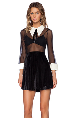 UNIF Amilia Dress in Black
