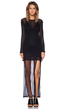 UNIF Perish Dress in Black