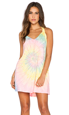 UNIF Rae Dress in Tie Dye