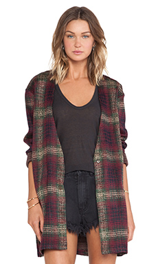 UNIF Nevermind Duster in Plaid