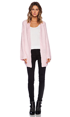 UNIF Mellow Cardigan in Baby Pink