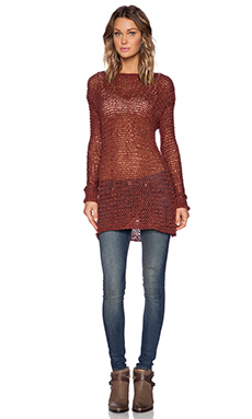 UNIF Deon Sweater in Rust