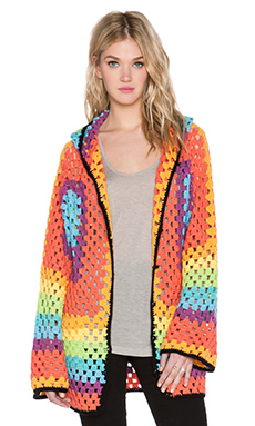 UNIF Meda Cardigan in Multi