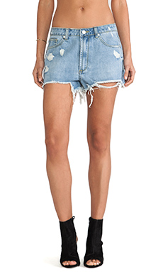 UNIF Hangover Short in Med Blue