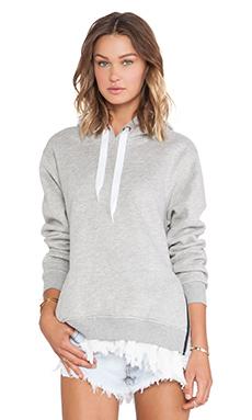 UNIF Stray Sweatshirt in Grey & White