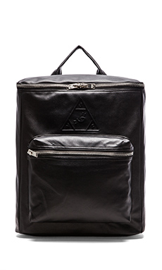 UNIF Insignia Backpack in Black