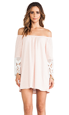 CAITLYN OFF SHOULDER DRESS