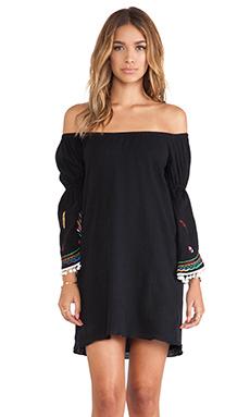VAVA by Joy Han Willow Off Shoulder Dress in Black