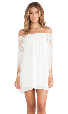 FARRAH OFF SHOULDER DRESS