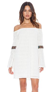 VAVA by Joy Han Kyle Off Shoulder Dress in White